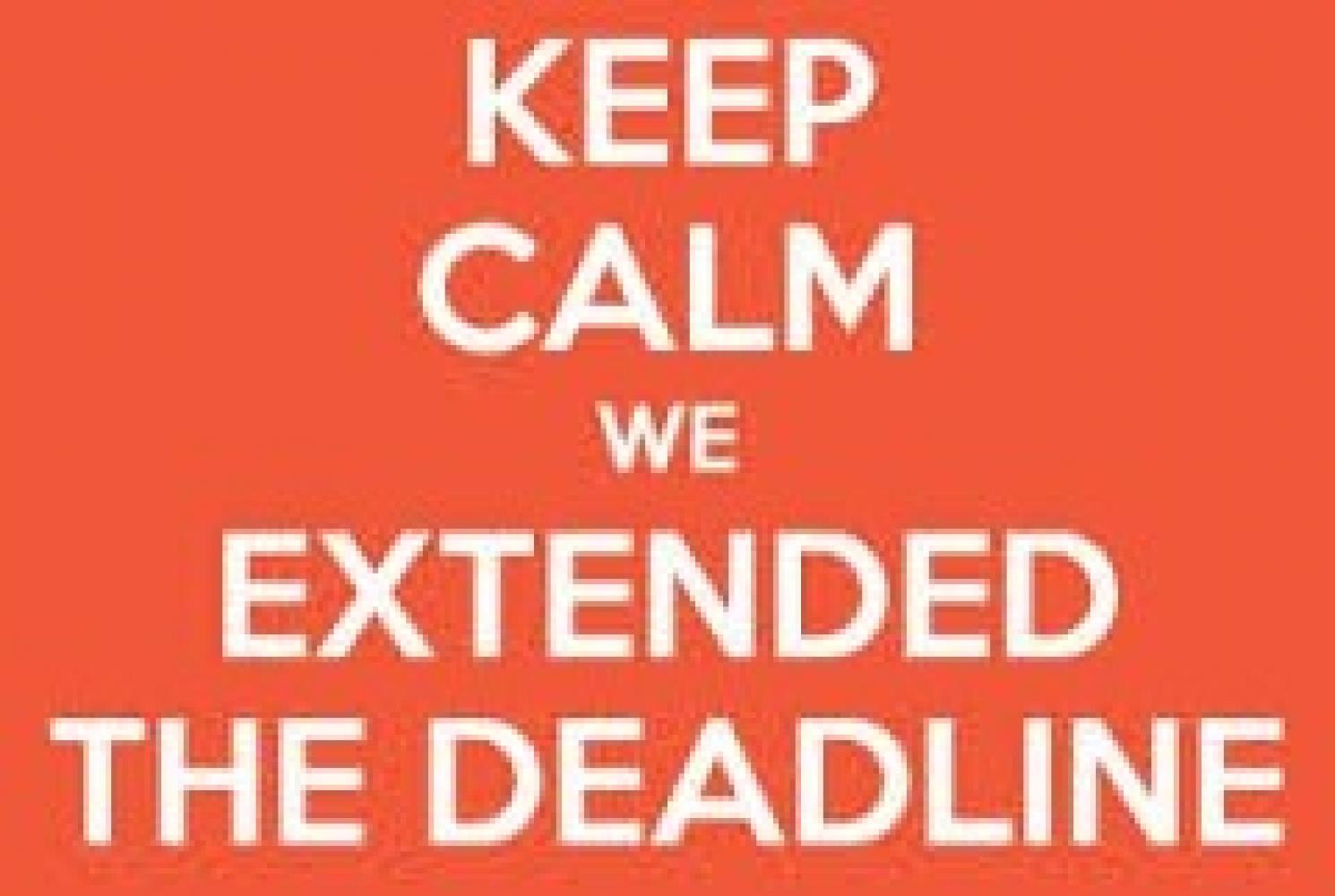 Application deadline extended to June 21st